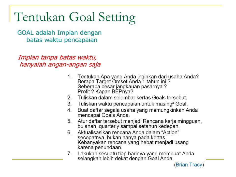 Tentukan Goal Setting