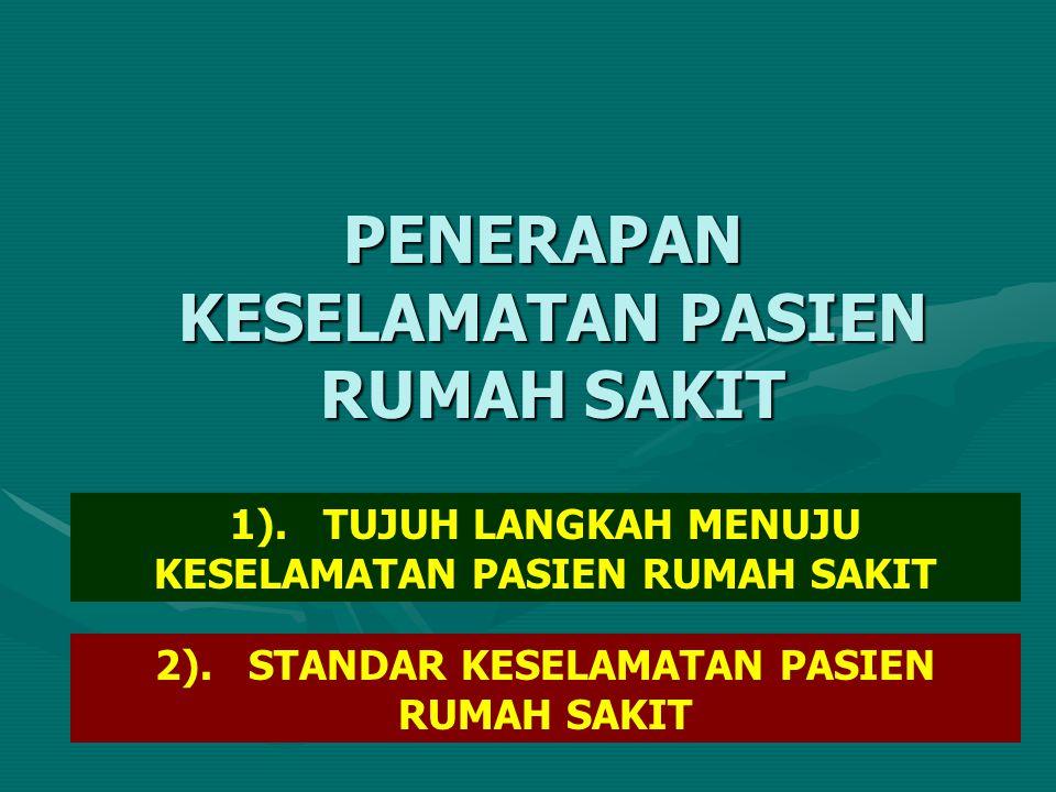 PENERAPAN KESELAMATAN PASIEN RUMAH SAKIT 1).