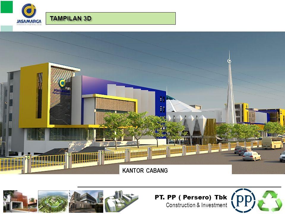 PT. PP ( Persero) Tbk Construction & Investment TAMPILAN 3D USULAN PERUBAHAN MESJID