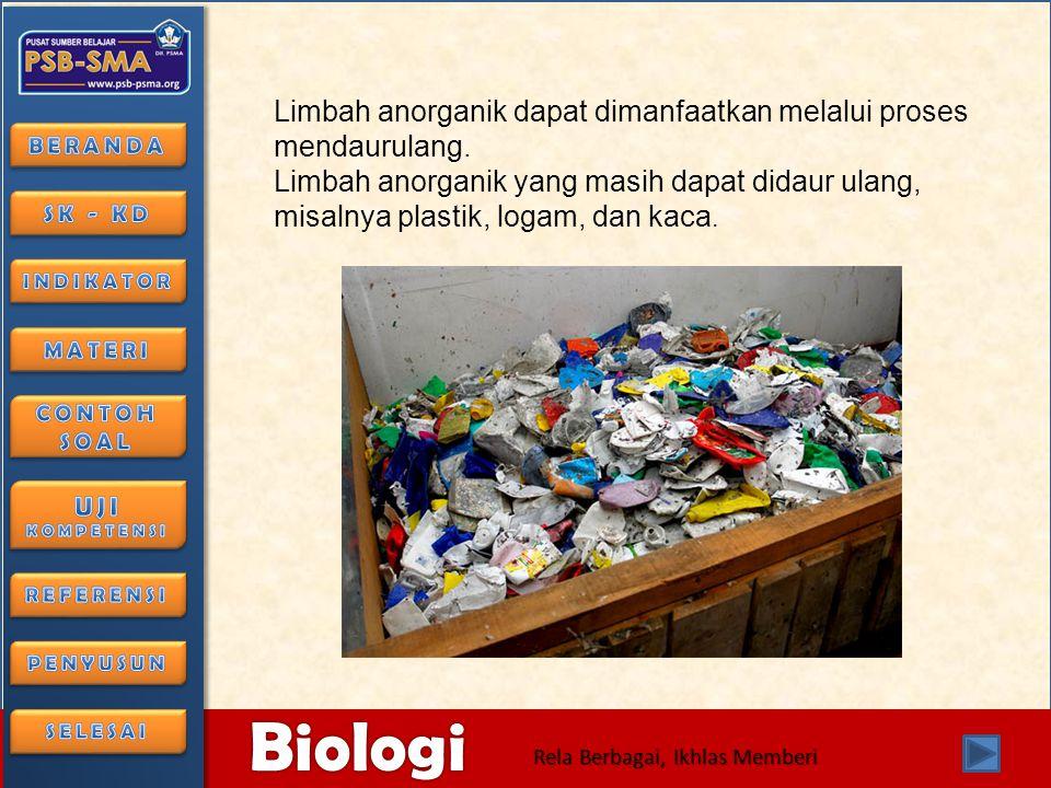 6/28/2014116/28/2014 Biologi Rela Berbagai, Ikhlas Memberi • 3.