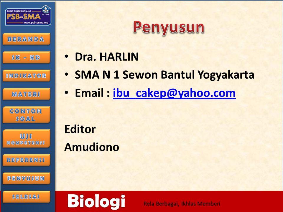 6/28/2014166/28/2014 Biologi Rela Berbagai, Ikhlas Memberi • Diah Aryulina Choirul Muslim Syalfinaf Manaf Endang Widi Winarni • ESIS 2006 • 2.www.lomb