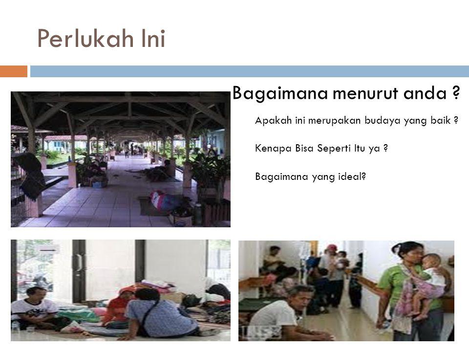 Keragaman petugas di rumah sakit  Terdapat kelompok profesional, subprofesional/vokasional dan tenaga bukan ahli.