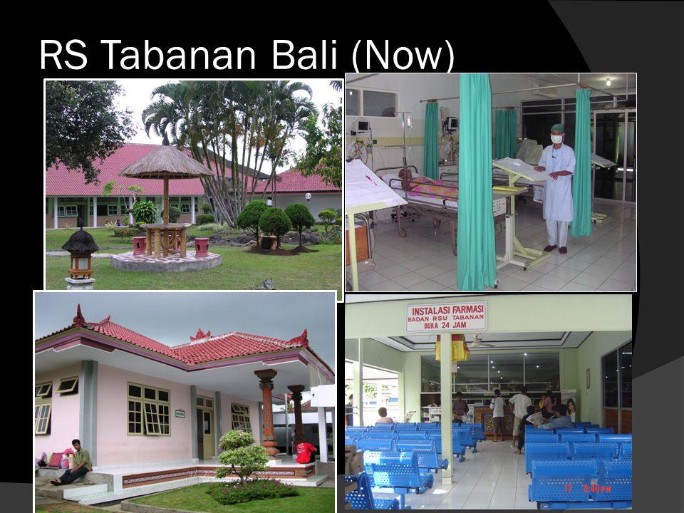 RS Tabanan Bali (Now)