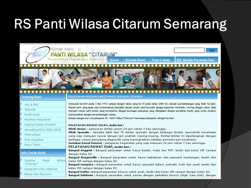 RS Panti Wilasa Citarum Semarang