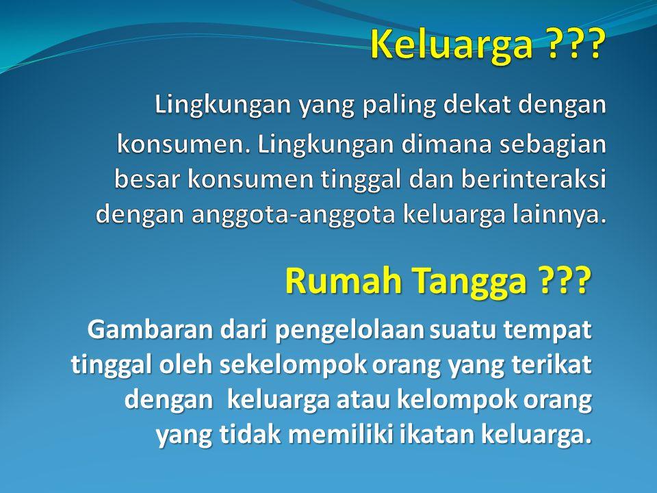 Perilaku Konsumen Oleh Ramadhani I14100027