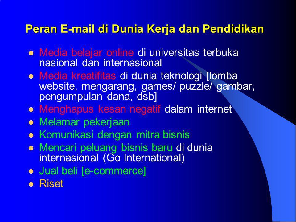 Pembuatan Sub-domain & Milis:  Pembuatan sub-domain bedasarkan grup (kelas, jurusan, angkatan, jabatan, dll.), contoh: –sita@sk.smkn6diy.com –dewi@sk.smkn6diy.com  Alamat milis: –Sk@smkn6diy.com  Jika sekolah (guru) mengirim e-mail ke alamat milis (sj@smkn6diy.com) akan sampai ke sita@sk.smkn6diy.com dan dewi@sk.smkn6diy.com