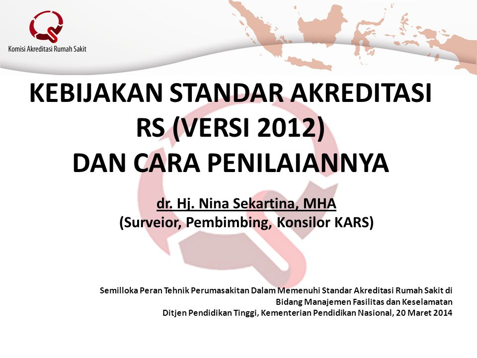 Standar MFK 9.1.