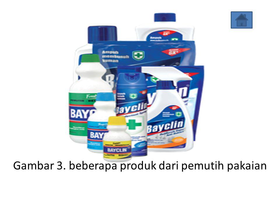 Gambar 2. berbagai macam sabun dan deterjen