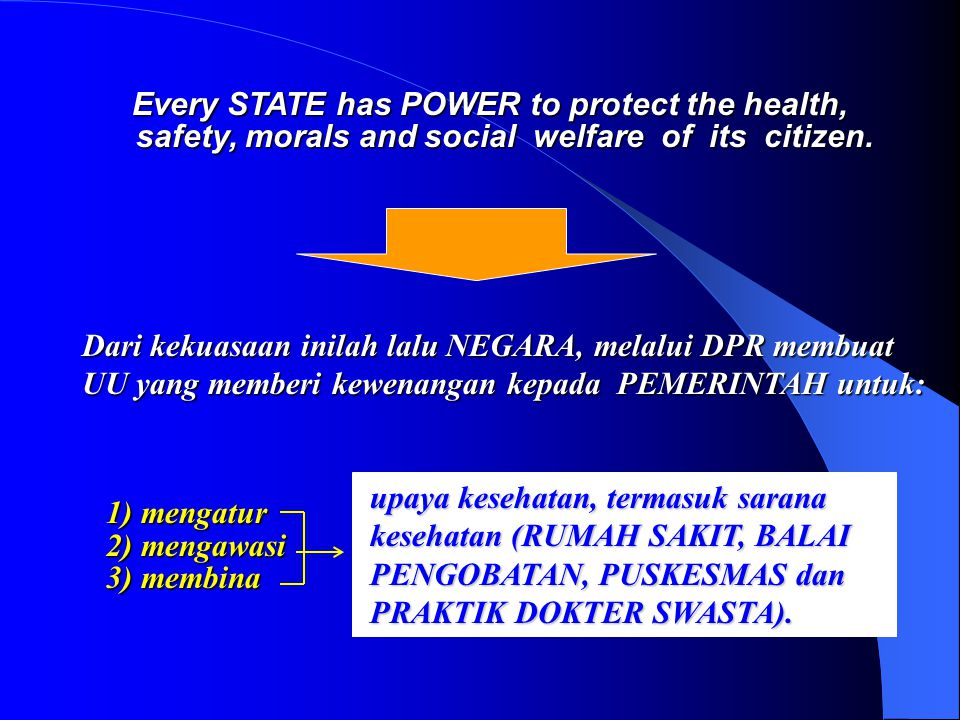 - Cuti hamil bagi dokter perempuan sesuai ketentuan yang ditetapkan oleh pemerintah.