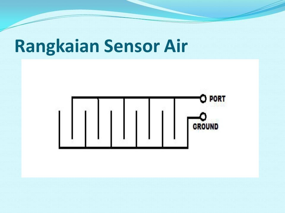 Rangkaian Sensor Air