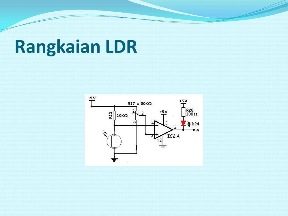 Rangkaian LDR