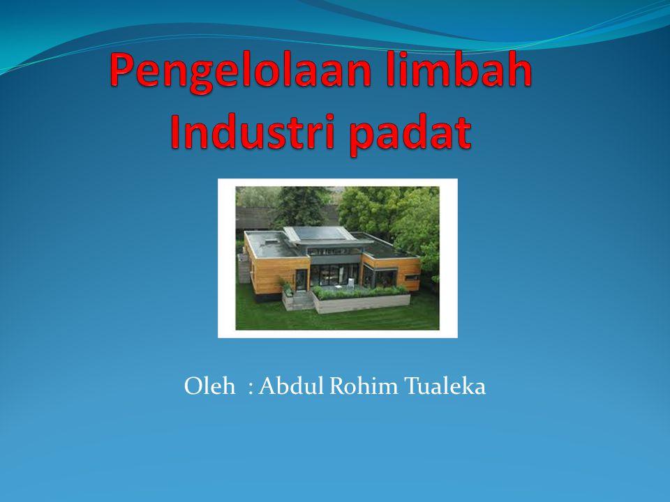Oleh : Abdul Rohim Tualeka