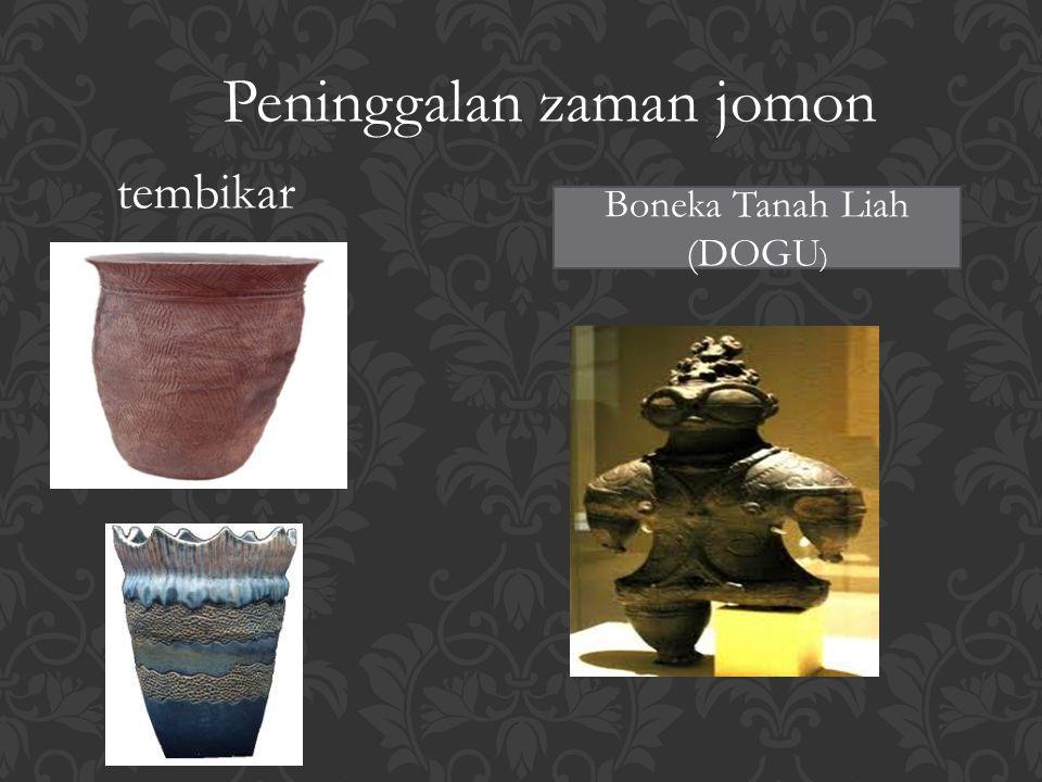 Peninggalan zaman jomon tembikar Boneka Tanah Liah (DOGU )