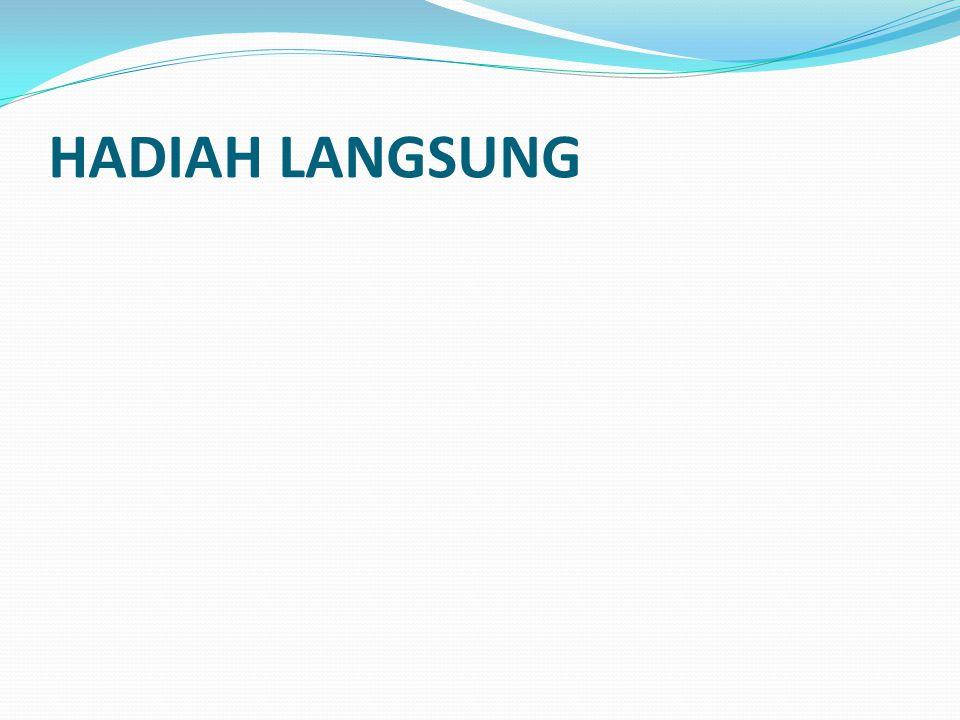 HADIAH LANGSUNG