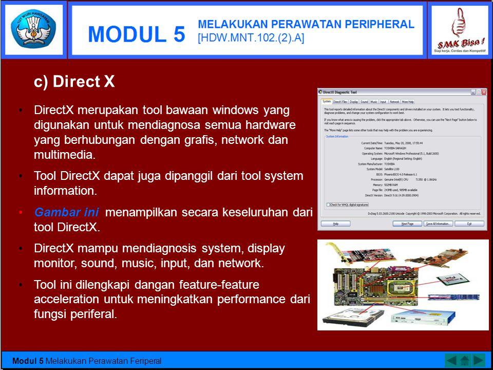Tool System information •ini dilengkapi dengan fungsi cari yang berfungsi untuk memudahkan pencarian komponen dalam komputer. •Selain itu tool ini dil