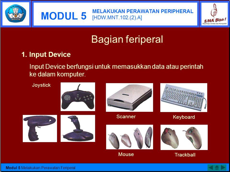 Karena komputer adalah suatu alat yang mana bisa juga rusak seperti halnya dengan alat-alat yang lainnya. Untuk itu kita perlu melakukan perawatan ter