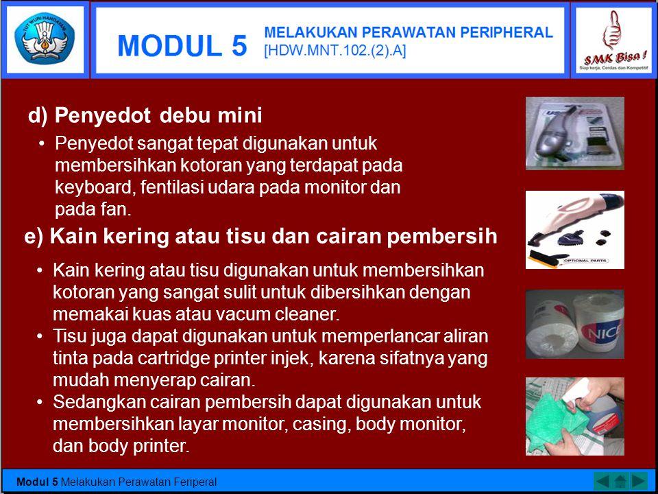 b) Tang •Untuk melakukan perbaikan periferal, digunakan tang cucut dan tang kombinasi. Tang cucut banyak digunakan untuk memegang kepala skrup atau ju