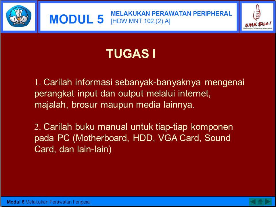 MemoriExpansion Card NIC (Network Interface Card) Floppy Disk Drive 5,25 Inch Floppy Disk Drive 3,5 Inch Bentuk fisik Hard Disk Bentuk fisk CDROM Modu