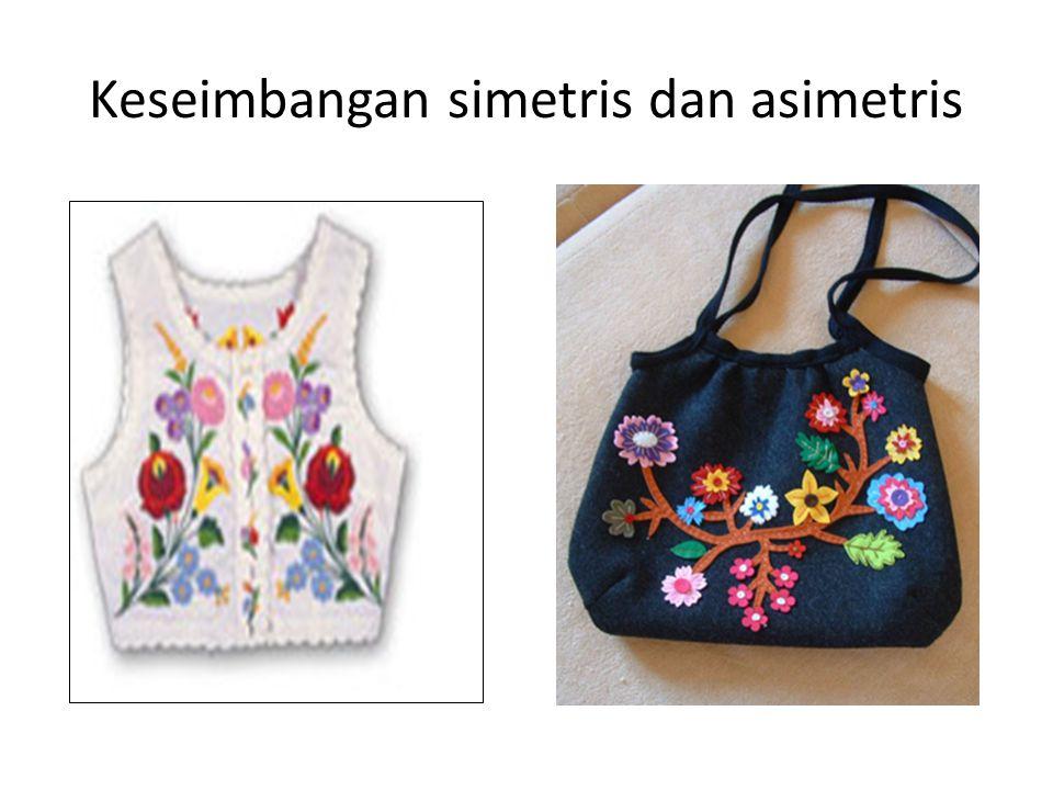 Keseimbangan simetris dan asimetris