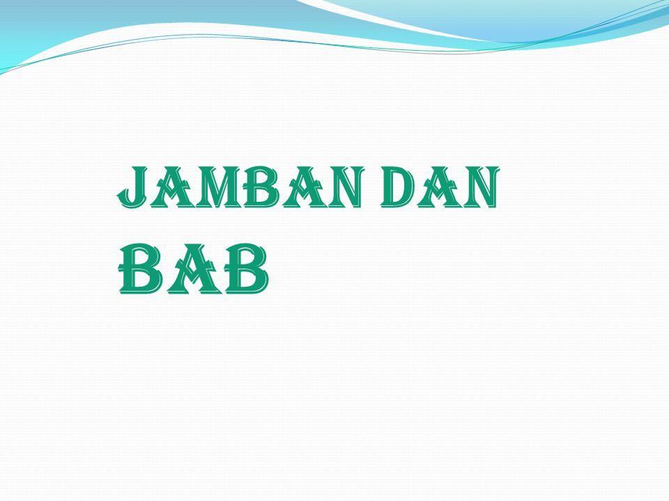 JambaN dan BAB