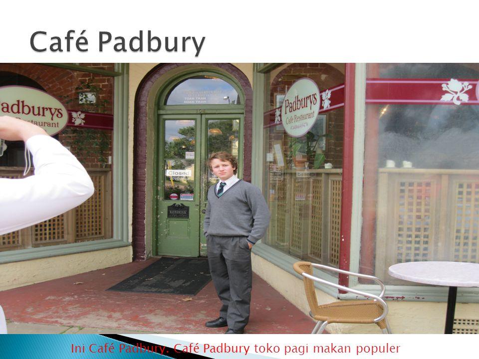 Ini Café Padbury. Café Padbury toko pagi makan populer