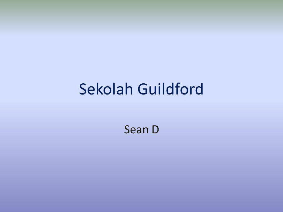 Arah Di Guildford • Pertama-tama jalan ke arah timur dari GGS menuju Sd GGS.