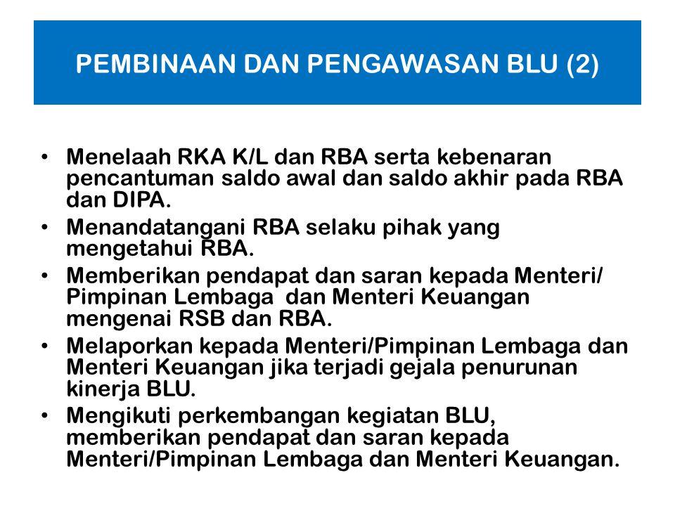 Dewan Pengawas (Dewas) BLU adalah organ BLU yang bertugas melakukan pengawasan terhadap pengelolaan BLU yaitu terhadap : - pelaksanaan Rencana Strateg