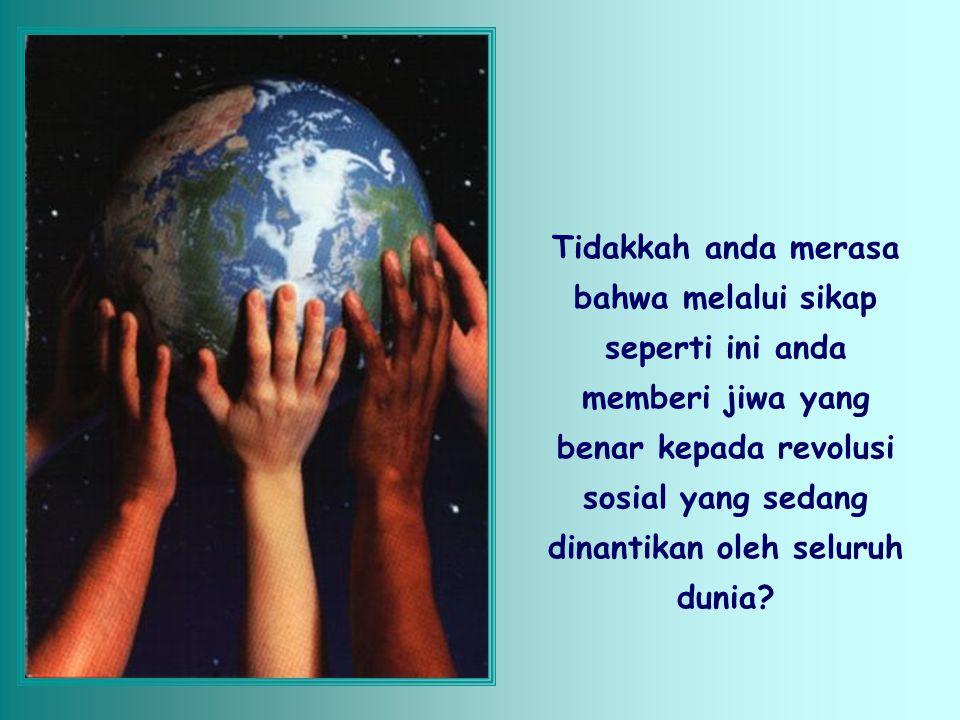 Tuhan bertindak demikian sebab semakin banyak yang kita miliki maka semakin banyak yang dapat kita berikan; sehingga sebagai 'administrator' harta mil