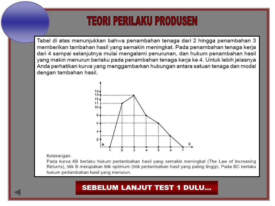 SEBELUM LANJUT TEST 1 DULU…