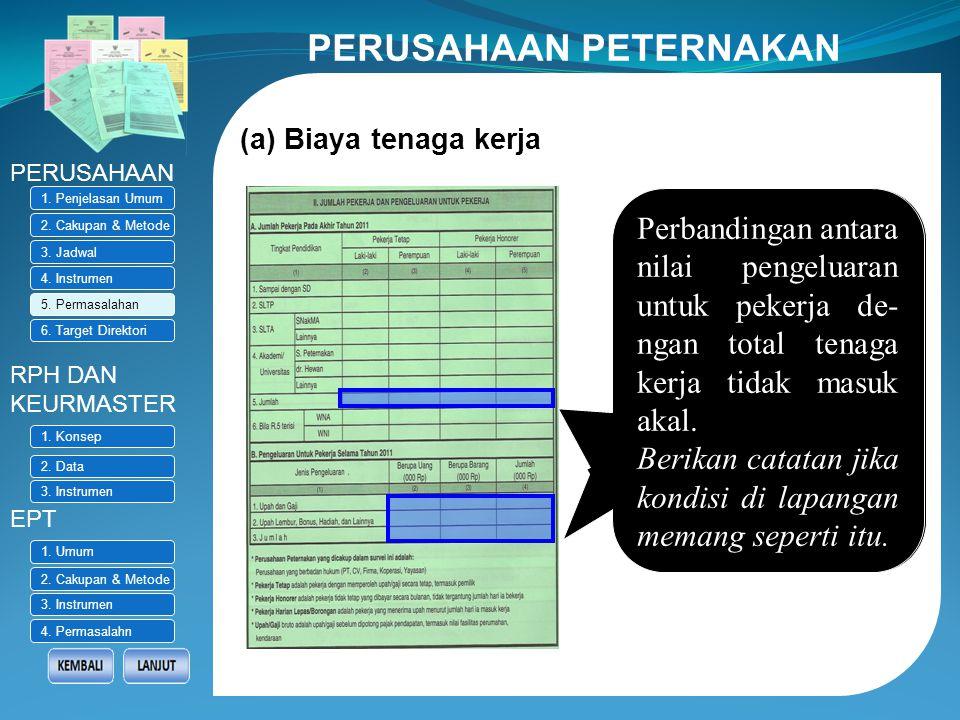 5. PERMASALAHAN Pemasukan dokumen (response rate) rendah Kasie Statistik Pertanian BPS Provinsi dimohon memonitor pendataan di lapangan. Laporkan/caca