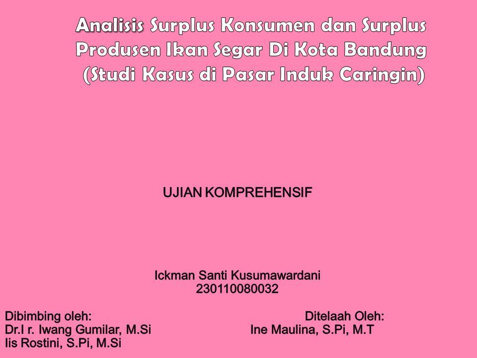 Geografis Jawa Barat •Potensi Perikanan Jawa Barat Bandung Ibu Kota Jawa Barat •Etalase penjualan ikan Jawa Barat Pasar Induk Kota Bandung •Pasar induk Caringin