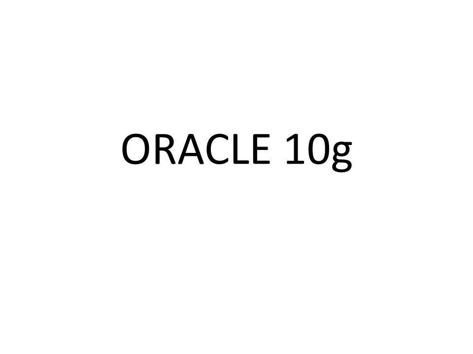 Objective • Mahasiswa diharapkan memiliki kemampuan dan pengetahuan hal2 berikut : • Fitur2 dari Oracle 10g • Kemampuan memahami secara teori dan aspek fisik dari relational DB • Implementasi RDBMS dan Object RDBMS dalam Oracle