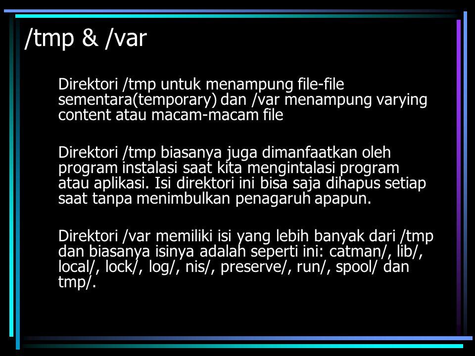 Direktori /var/log merupakan direktori yang sangat familiar bagi setiap user.