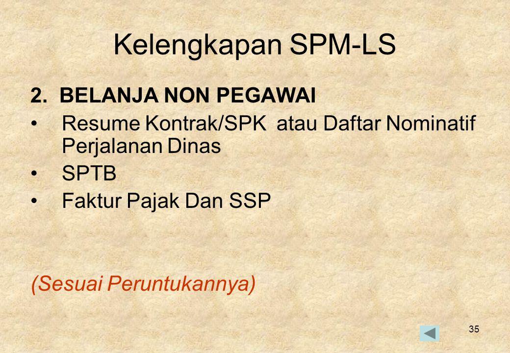 35 Kelengkapan SPM-LS 2.