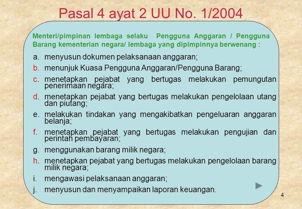 4 Pasal 4 ayat 2 UU No.