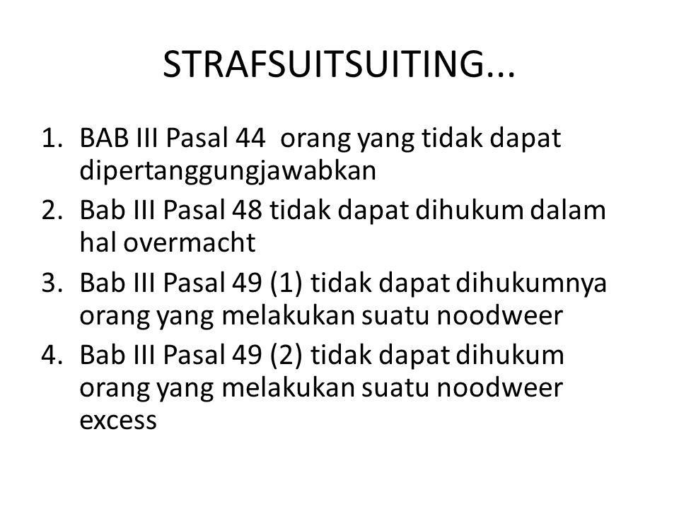 STRAFSUITSUITING...