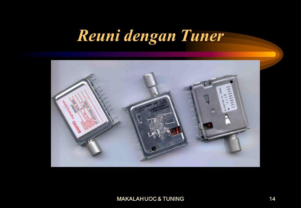 MAKALAH UOC & TUNING13 Bentuk Sinyal-Sinyal IIC START SDA SCL STOP SDA SCL DATA 1 SDA SCL DATA 0 SDA SCL