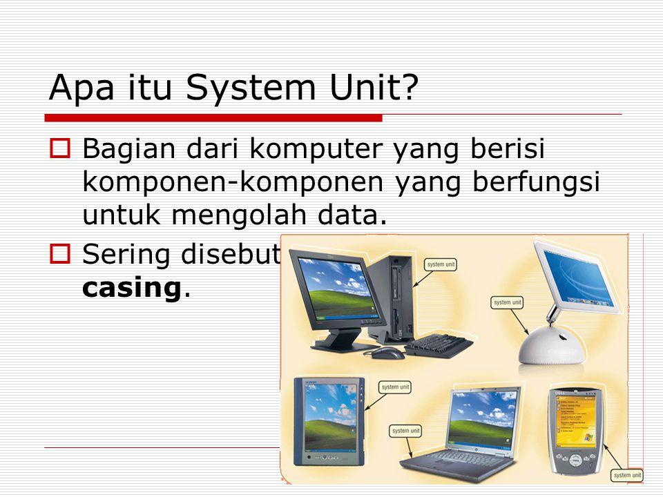 Apa itu System Unit.