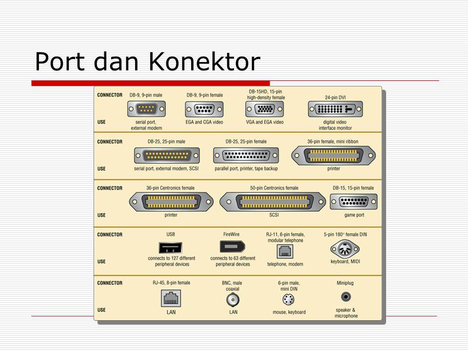 Port dan Konektor