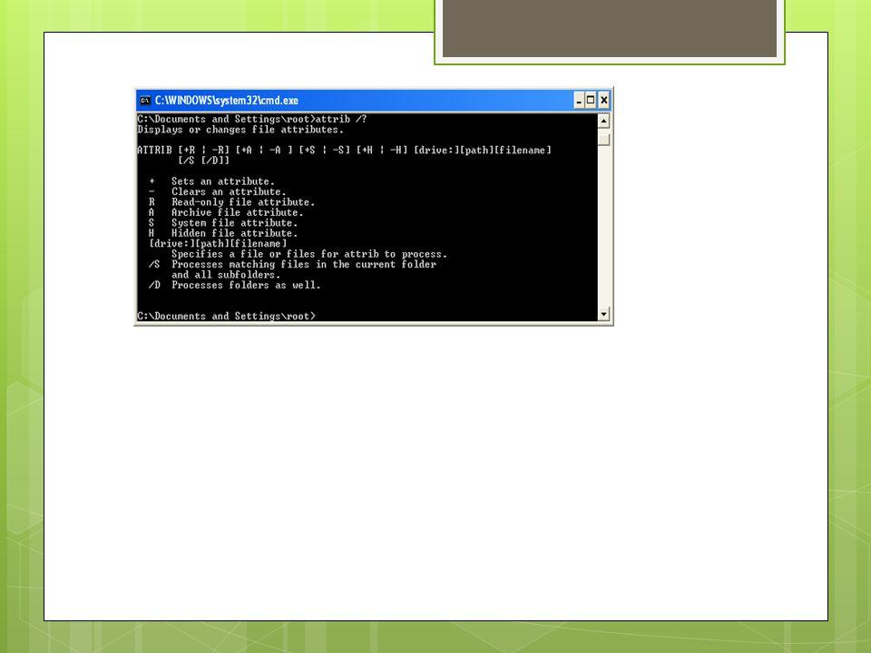 Memformat disk sistem Untuk mengformat disket yang akan dijadikan sebagai bootable disk atau harddisk utama (yang menjadi tempat kernel untuk booting).