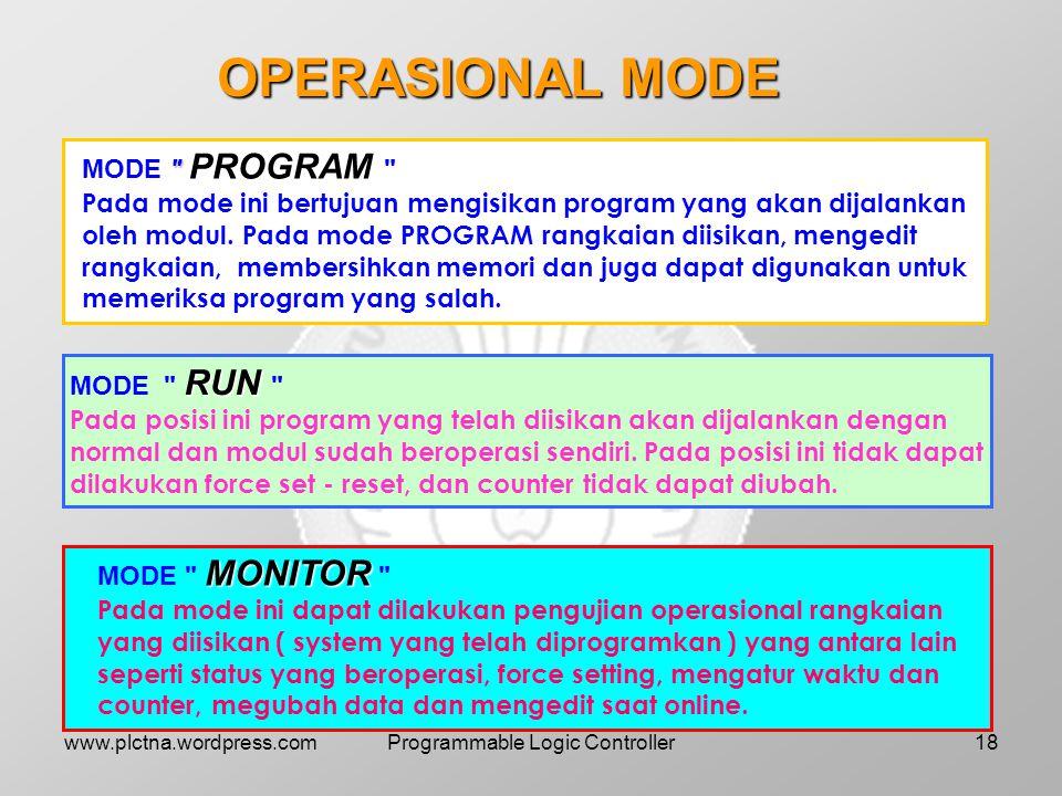 CARA MENGGUNAKAN PROGRAMMING CONSOLE PROGRAMMING CONSOLE 1.Tampilan awal saat menghidupkan PROGRAMMING CONSOLE 2.Pemilihan mode untuk mengisi dan meli