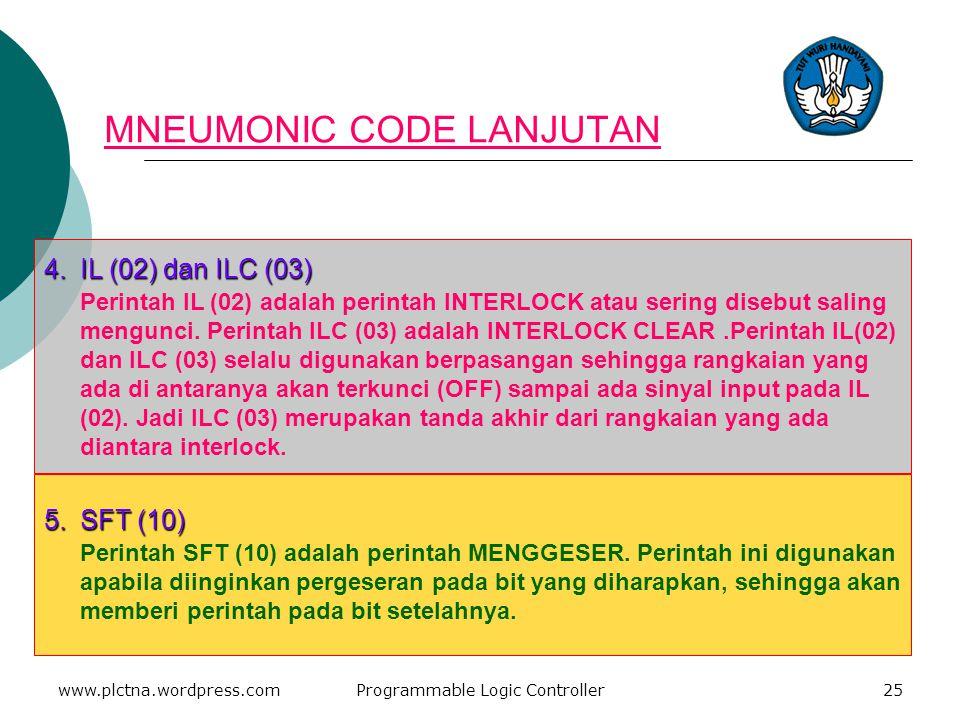 3.CNT dan CNTR (12) Perintah CNT dan CNTR (12) adalah perintah counter atau perintah menghitung. Perintah ini digunakan pada penghitungan jumlah yang