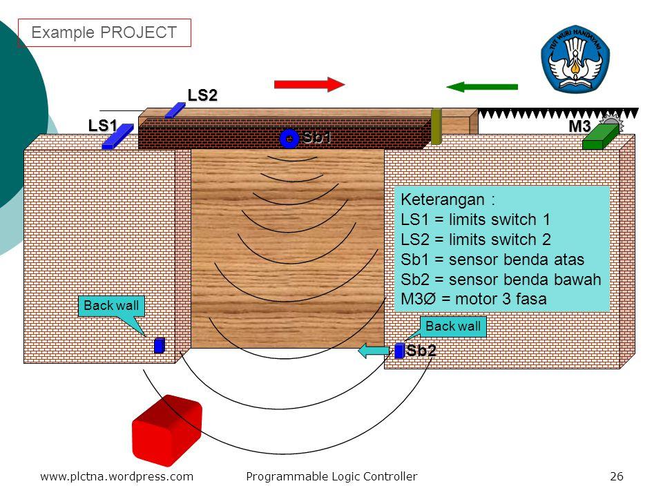MNEUMONIC CODE LANJUTAN www.plctna.wordpress.comProgrammable Logic Controller25 4.IL (02) dan ILC (03) Perintah IL (02) adalah perintah INTERLOCK atau
