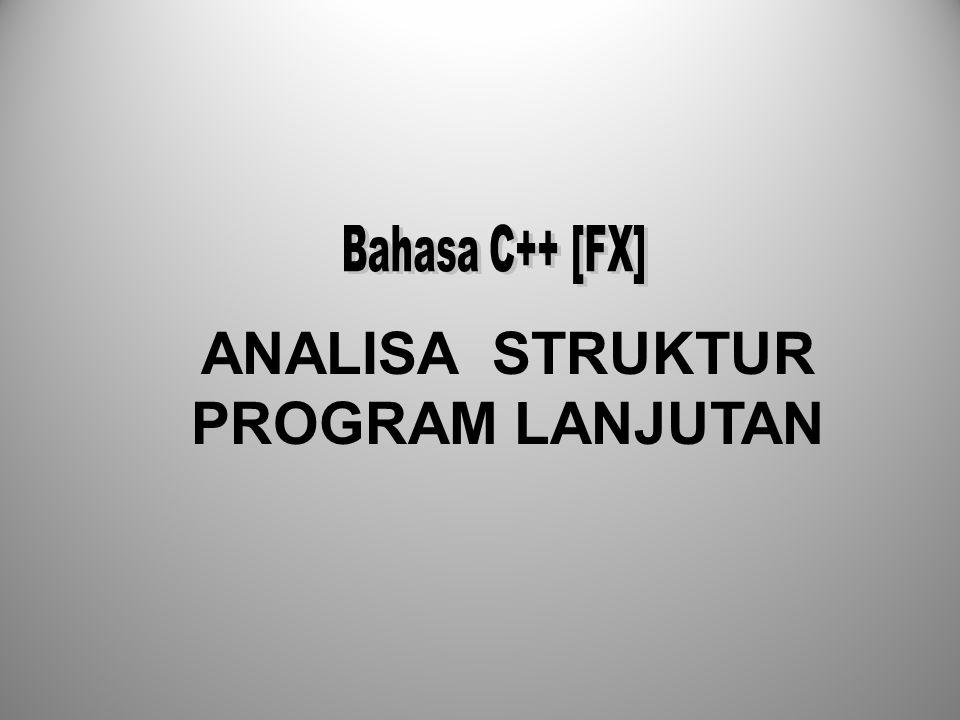 I.Struktur Program A.