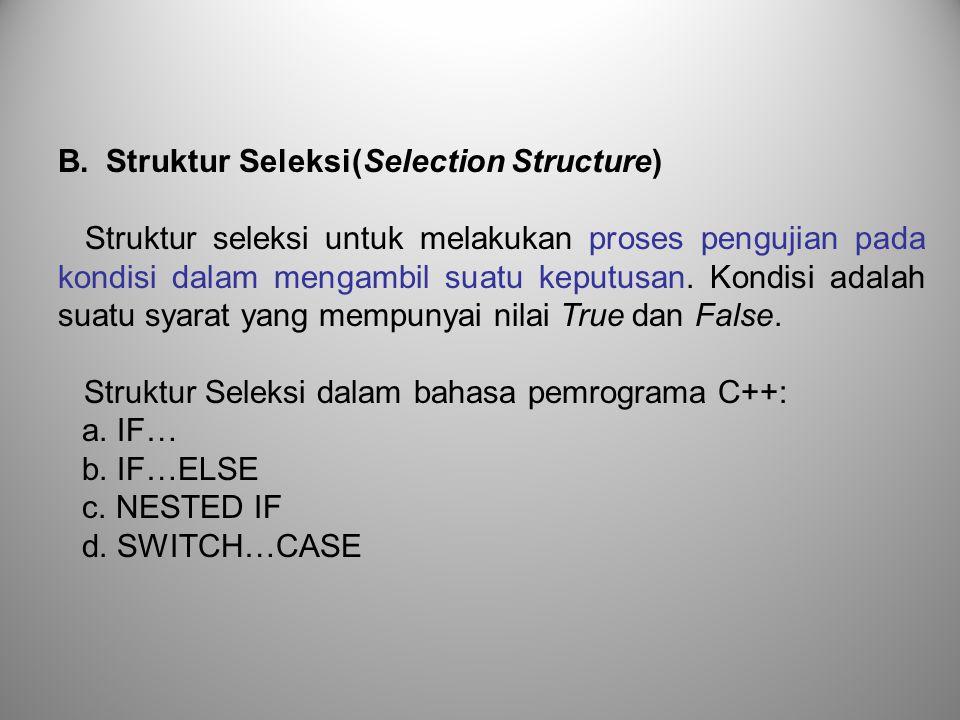1.While Perulangan digunakan unutk melaksanakan blok statement selama kondisinya benar.