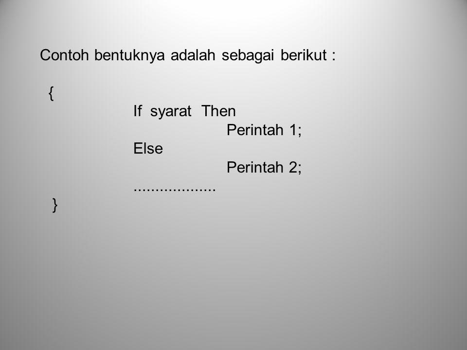main() { int bil=1; clrscr(); while (bil<=10) { cout<< AMIK BSI <<endl; bil=bil+1; } getch(); } main() { int bil=1; clrscr(); do { cout<<bil<<endl; bil=bil+2; } while (bil<=10) getch(); } Outputnya…?