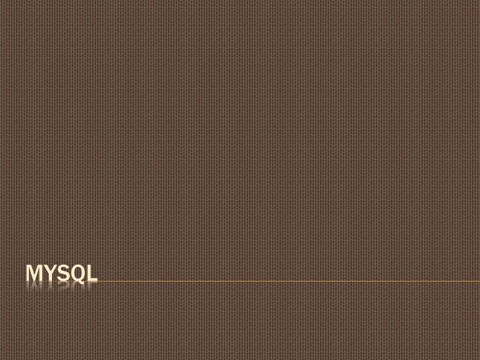 1.Maksud  Mengenal Database MySQL  Memahami perintah Query 2.