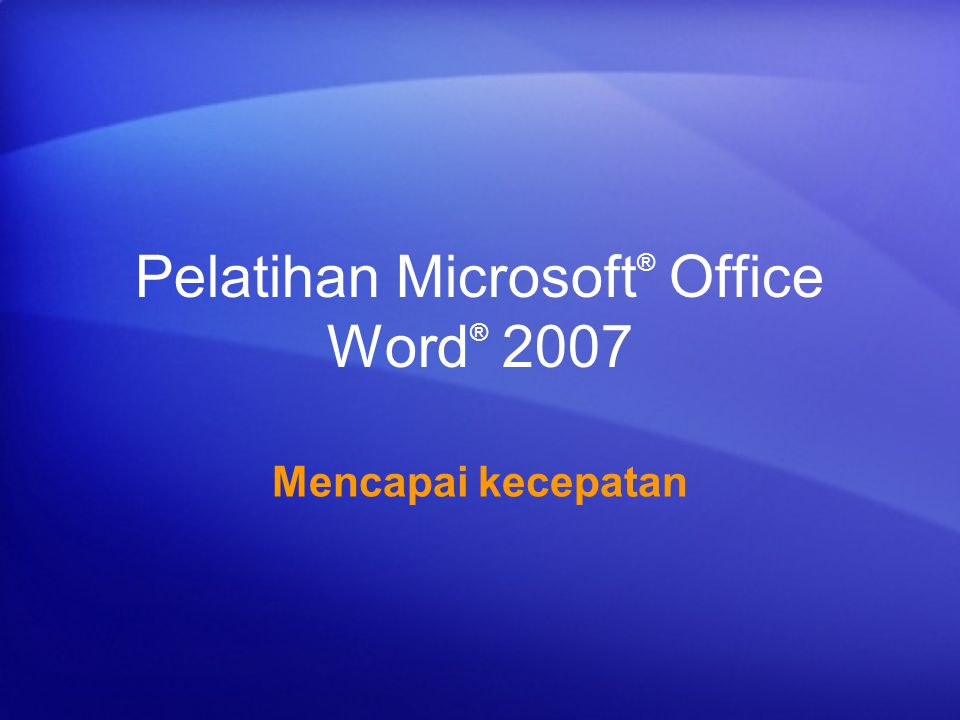 Autorecover file word 2007