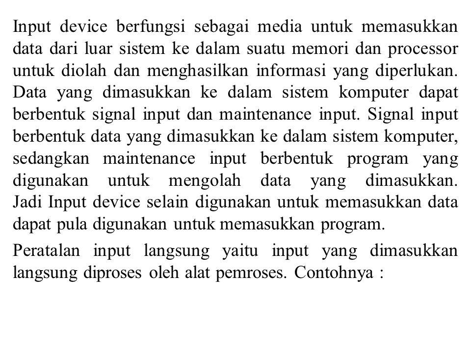 Dalam pengolahan informasi, output adalah proses transmisi informasi atau informasi yang ditransmisikan itu sendiri.