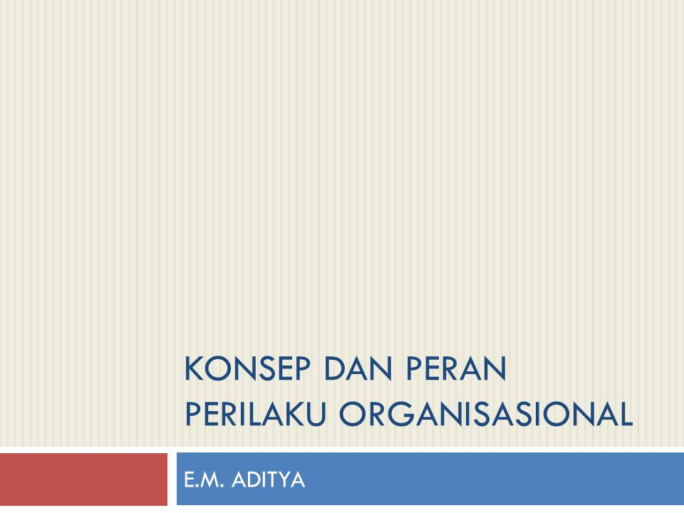 Keterlibatan Peran Manajer  Manajer adalah seseorang yang bekerja dengan dan melalui orang lain dengan mengkoordinasikan kegiatan-kegiatan pekerjaan guna mencapai tujuan organisasi.